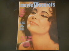 Elizabeth Taylor, Inger Stevens, Bobby Kennedy - Movie TV Secrets Magazine 1965