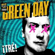 GREEN DAY - Tre LP - YELLOW VINYL - rare limited version - SEALED new copy