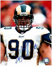 "St. Louis Rams JEFF ZGONINA Signed Autographed 8x10 ""Greatest Show on Turf"" E"