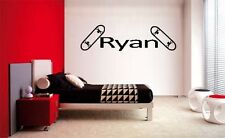 BOYS NAME SKATEBOARD DECAL WALL VINYL DECOR STICKER ROOM SPORTS