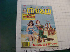 vintage HIGH GRADE magazine: CRACKED probably unread #163 oct 1979 w Postcards