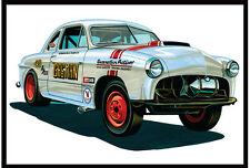 AMT 1:25 Scale 1949 Ford Gasser Plastic Model Car Kit AMT1022 NEW