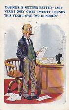 Business Is Getting Better - Philco Comic Series - Postmarked 1924