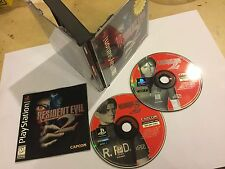 NTSC ps1 PLAYSTATION 1 Gioco RESIDENT EVIL 2 BIG Fat Box US USA EDIZIONE NTSC-U/C
