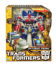"TRANSFORMERS ROTF Larrge Leader OPTIMUS PRIME 10"" figure (fully transformable)"