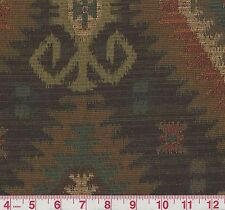 Swavelle Mill Creek Gali Latex Chocolate Tribal Woven Upholstery Fabric BTY