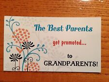Pregnancy Announcement Gift Magnet The Best Parents Get Promoted To Grandparents