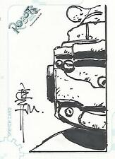 "Robots The Movie - SK2 ""Tone Rodriguez"" Sketch Card #170/528"