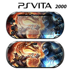 Vinyl Decal Skin Sticker for Sony PS Vita Slim 2000 Mortal Kombat