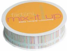 Flirtiini Mix-It-up Eats Recipe Coasters by Allana Baroni