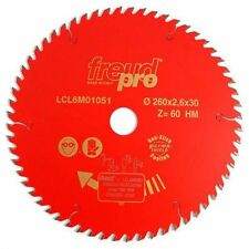 Freud Pro LCL6M01051 TCT Portable Saw Blade 260mm x 30 x 60 Tooth LCL6M 01051