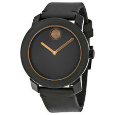 Movado Bold Black TR90 Composite Mens Watch 3600297
