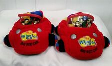The Wiggles Slippers Big Red Car Sz 7 8  Toddler Greg Murray Anthony Jeff