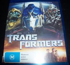 Transformers (Australia Region B) Blu-Ray 2 Disc Edition– Like New