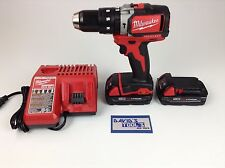 Milwaukee 2702-20 Brushless 1/2 Hammer Drill 48-11-1815 batteries & charger kit