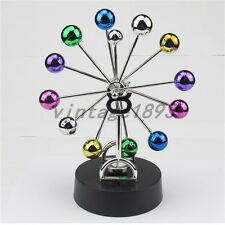 Colorful Ferris Wheel Balance Ball Physics Science Pendulum Desk Toy Craft