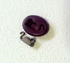 Silicone Mold Cute Miniature Mouse (20mm) Polymer Clay Fimo Premo Dollhouse