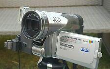 Videocámara Panasonic Nv Serie-GS70EG/Lente Leica Dicomar/1,7 grabación