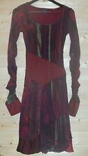 LEGATTE JEANS/SAVE THE QUEEN LINED LONG SLEEVE NYLON DRESS SIZE 3