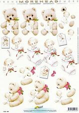 Morehead Christmas Angel 3D Decoupage Paper Crafts Card Making CUTTING REQUIRED