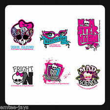 MONSTER HIGH Tattoos - Party Favours x 12 pieces Birthday Supplies/Kids Fun