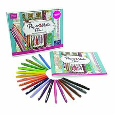 Paper Mate Flair Felt Tip Pens, Medium Point, Assorted Colors, 20 Count with