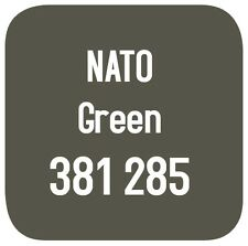 BRITISH STANDARD 381C 285 CELLULOSE PAINT  NATO GREEN 5L