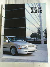Volvo S40/V40 range brochure 2002 German text
