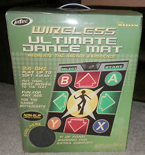 "new INTEC WIRELESS DANCE MAT Brand new in Box FOAM PAD 1"" FOR XBOX"
