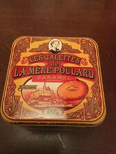 FRENCH METAL LA MERE POULARD' BISCUIT/ STORAGE TINS COLLECTABLE
