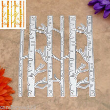 Birch Trees Metal Cutting Dies Stencils DIY Scrapbooking Album Paper Card Craft