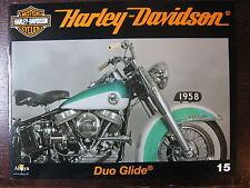 FASCICULE 15 HARLEY DAVIDSON DUO GLIDE 1958 / BIKETOBERFEST /  PROMO SPORTSTER