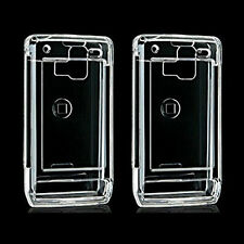 2 Transparent Clear Snap On Hard Cover LG Dare VX-9700 Protector Case