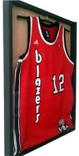 Jersey Display Case Football Basketball Autograph Shadow Box 1 UV Protecting