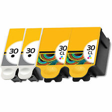 4 For Kodak 30XL Ink Cartridges Set For ESP 310 C315 2150 2170 Hero 3.1 3.2 5.1