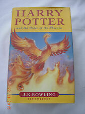 Harry Potter and the Order of the Phoenix  J. K. Rowling (Hardback, 2003) 1st Ed