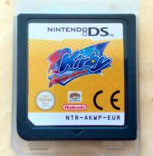 Kirby Mouse Attack Squeak Squad Nintendo DS Lite DSi NDS XL Platformer Game Card