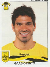 N°039 FLAVIO # BRAZIL ARIS SALONIKI STICKER PANINI GREEK GREECE LEAGUE 2010