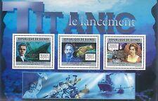 Guinea Bissau 2011 Stamp, GU11714A Centenary of the Titanic,II,S/S