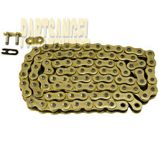 520 Gold Non O-ring Chain 120 Links for motorcycle