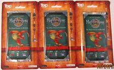 NUKO Monsterology 7 Playing Cards - 3 Pack!  1st Edition Blister Packs