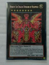 YUGIOH HIERATIC SUN DRAGON OVERLORD OF HELIOPOLIS SECRET RARE NM CT09-EN004