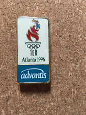 ATLANTA 1996 OLYMPIC PIN  ADVANTIS - COLLECTIBLE