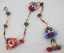 Dangly Home Decoration Handmade Colourful Owls Hanging Childrens Kids Mobile