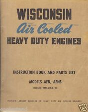 Equipment Manual - Wisconsin - AEN AENS - Engine - Instruction Parts (E1688)