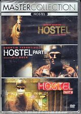 3 Dvd Box Cofanetto **HOSTEL ♦ COLLECTION ♦ TRILOGIA** nuovo