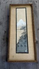 Vintage Framed Original Arts and Crafts Watercolor, Signed – Japonism