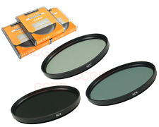 58mm 3 Filter Kit Neutral Density ND2 ND4 ND8 for Canon Nikon Pentax SLR Camera