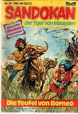 Sandokan der Tiger von Malaysien 24 - BASTEI 1979-1980 Abenteuer