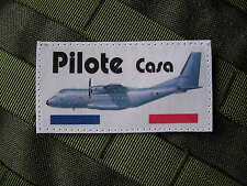 Patch Velcro - PILOTE CASA - armée de l'air VOL TAP CPA